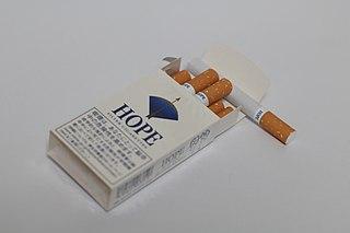 Hope (cigarette) brand of cigarettes