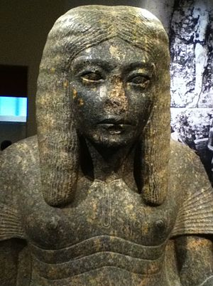 Horemheb - A statue of Horemheb as a scribe