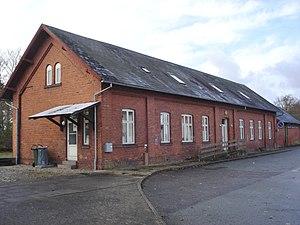 Hornum, Denmark - Image: Hornum StationØ