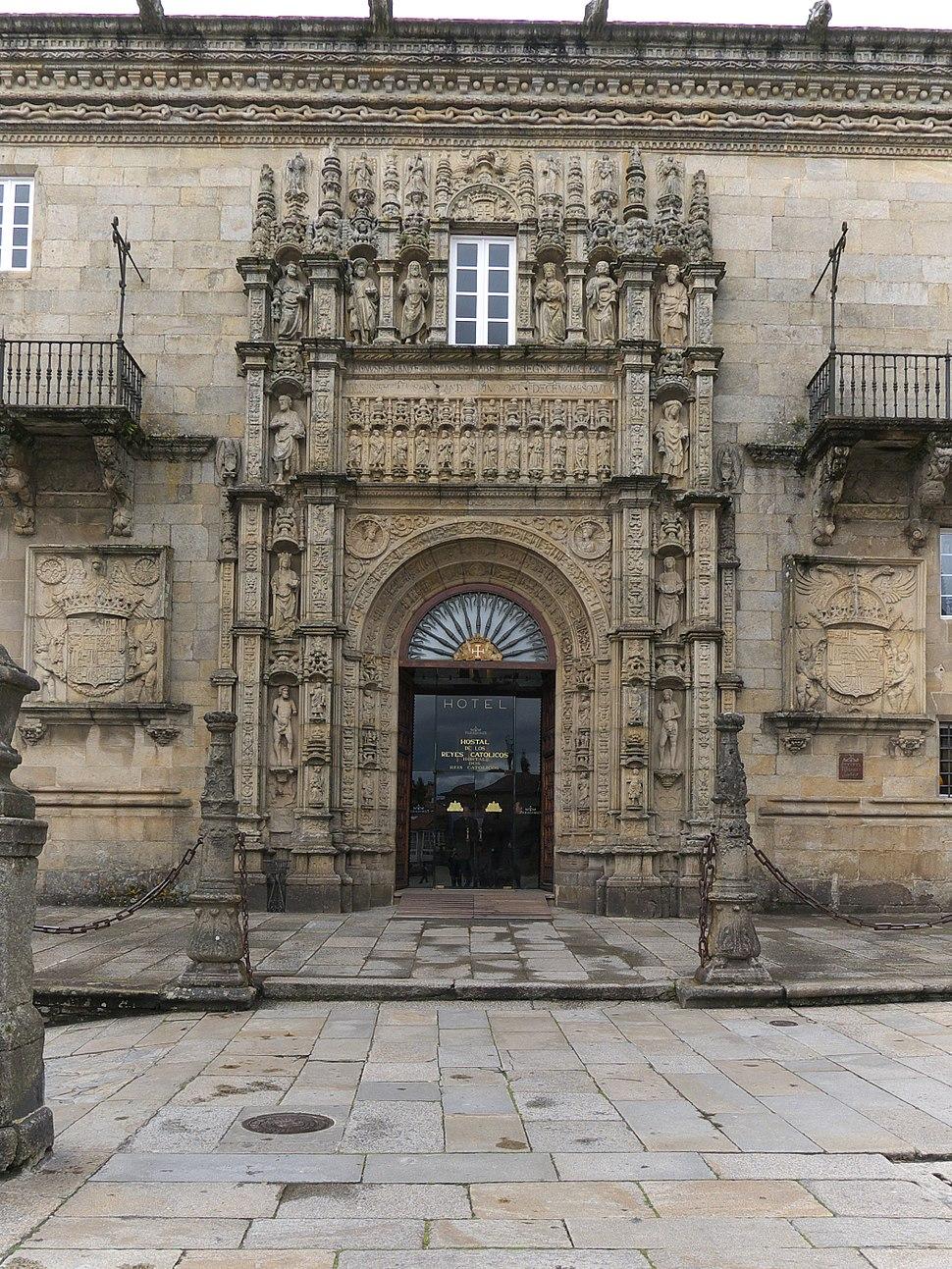 Hospital Real de Santiago de Compostela. Portada