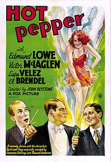 <i>Hot Pepper</i> (1933 film) 1933 film by John G. Blystone