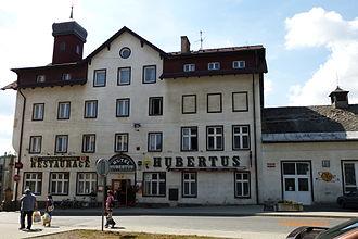 Poběžovice - Image: Hotel Hubertus