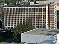 Hotel Moskva, seen from nr. 21., Zlín.JPG