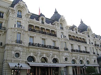 Second Empire architecture in Europe - Image: Hotel de Paris (Monte Carlo)
