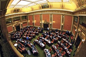 Utah House of Representatives - Image: House Chamber inside the Utah State Capitol Feb. 2011