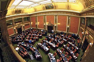 Utah House of Representatives - Image: House Chamber inside the Utah State Capitol Feb. 2011
