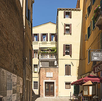 Canaletto - Canaletto's birthplace