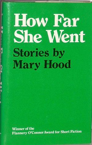 Mary Hood - 1984 Edition Hardback of How Far She Went