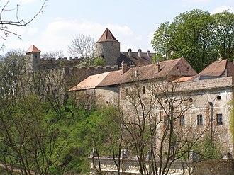 Veveří Castle - Western part of the castle