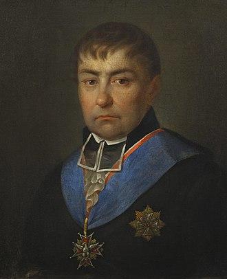 Hugo Kołłątaj - Kołłątaj, by Jan Pfeiffer, 1810