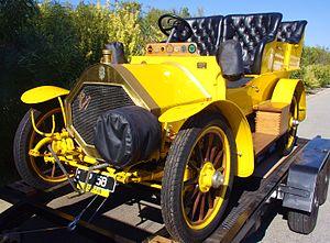 Louis Coatalen - 1906 Humber 10-12