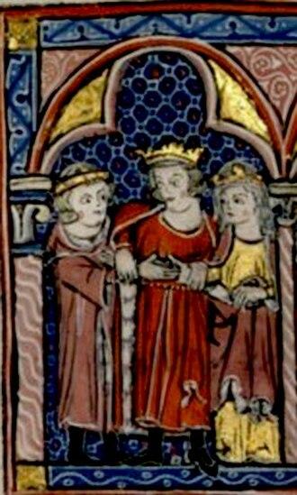 Humphrey IV of Toron - Marriage of Humphrey and Isabella of Jerusalem