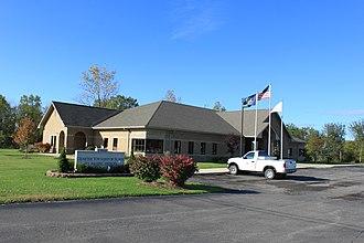 Huron Charter Township, Michigan - Township Municipal Offices Building.