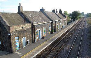 Brandon railway station - Image: I Brandon railway station