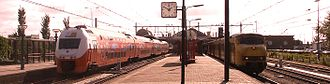 Vlissingen railway station - Image: I Cundstoptreininvliss ingen
