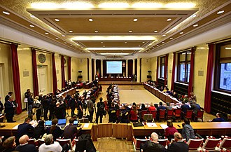 Warsaw City Council - Image: III sesja Rady m.st Warszawy Sala Warszawska P Ki N 2018
