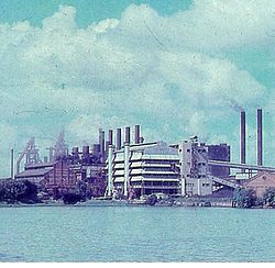 Panoramic view of the old IISCO Plant
