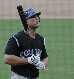 Matt Holliday - Holliday on the field in 2007