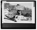 INDIAN HEAD SIGN, NO DATE - Generals Highway, Three Rivers, Tulare County, CA HAER CAL,54-THRIV.V,2-8.tif
