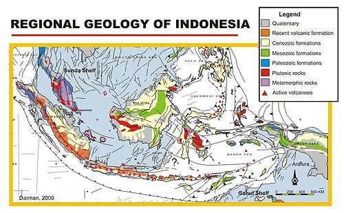 Geologie Indonesiens