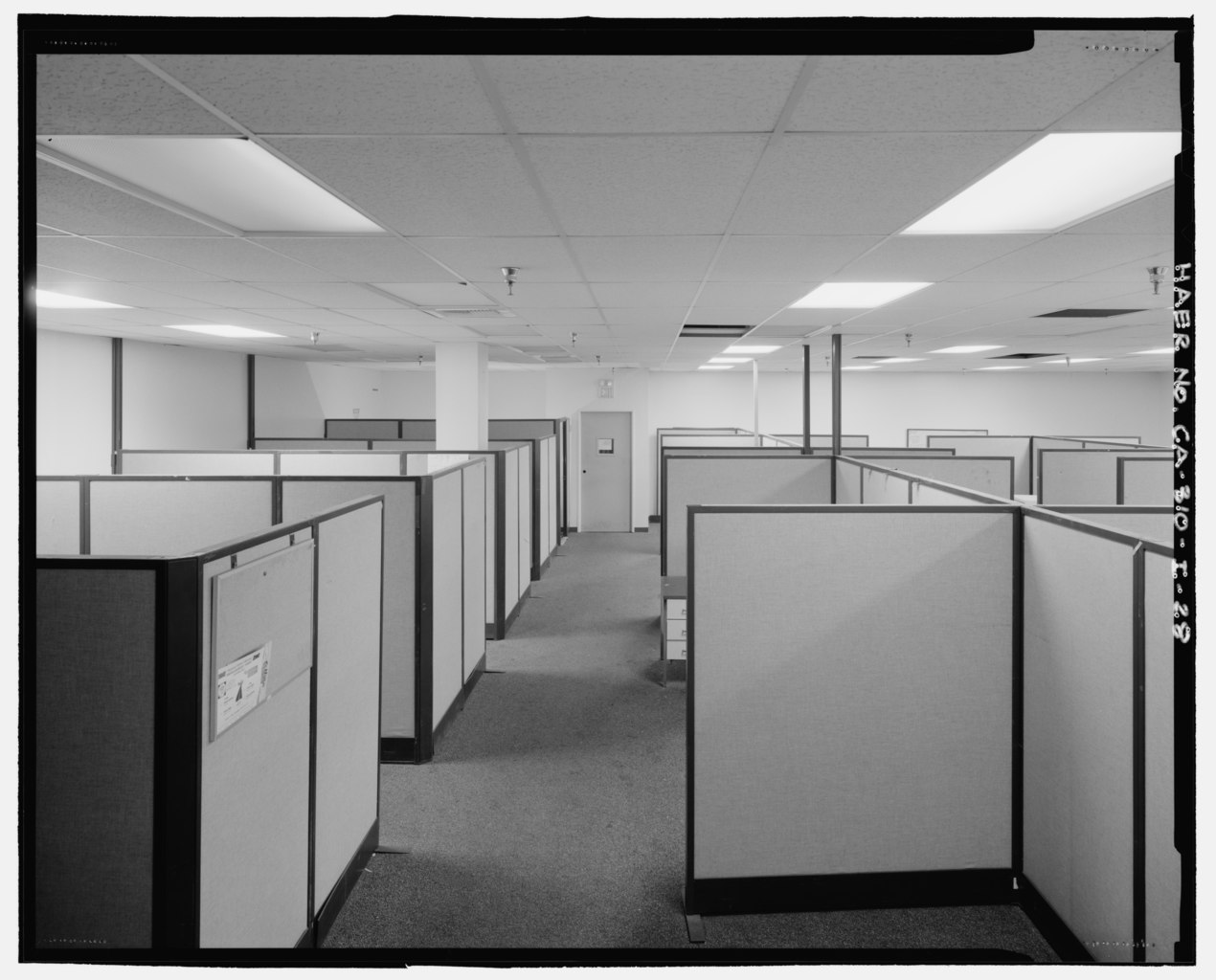 File:INTERIOR BLDG. 288 OFFICE AREA DETAIL VIEW, FACING ...