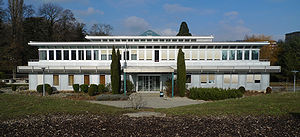 Swiss Institute of Comparative Law - The Institute's building in Lausanne.