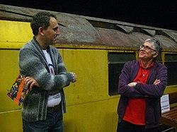 Ianvisits chatting to Museum Depot Volunteer John (6365190801).jpg