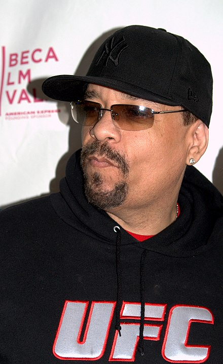 Ice-T at the 2009 Tribeca Film Festival for the premiere of Burning Down the House Ice-T at the 2009 Tribeca Film Festival 2.jpg