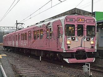 Iga Railway Iga Line - Image: Iga Tetsudou 200Series 05