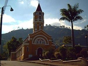 Gachalá - Image: Iglesia Gachalá