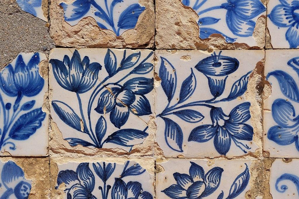Azulejos dans l'église Igreja de São Vicente da Fora à Lisbonne - Photo de Julien Chatelain