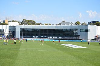 Princes Park (stadium) - The Carlton Admin building in March 2017