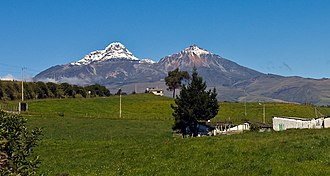 Illiniza - The double peak of The Illinizas