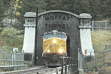 Train Tunnel at Moffat, Colorado