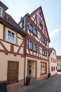 in Der Altstadt in Klingenberg am Main