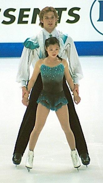 Kyoko Ina - Ina and Zimmerman in 2001.