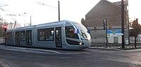 Inauguration de la branche vers Vieux-Condé de la ligne B du tramway de Valenciennes le 13 décembre 2013 (023).JPG
