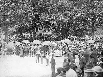 Murphy J. Foster - Inauguration at the State House, 1892