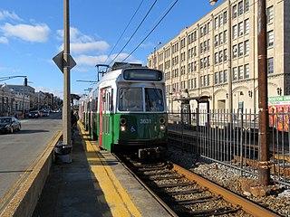 Boston University West station MBTA subway station