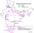 India HSR potential route.png
