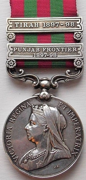 India Medal - Image: India Medal 1895 1902 (Obverse)