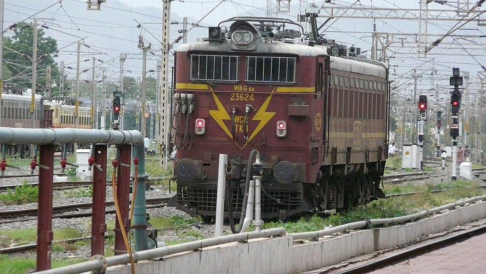 Indian Railways WAG 23624 Vijayawada Junction