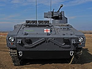 Infantry Fighting Vehicle Lazika - STC Delta (front view).jpg