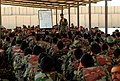 Instructor lectures Afghan National Army trainees about squad attack skills in Basic Warrior Training at Regional Military Training Center, Kandahar (2).jpg