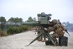 Integrated Task Force anti-armor Marines engage targets, fire missiles 150114-M-DU612-136.jpg
