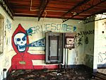 Interior Shot with grafitti, Hill 88 (3231035884).jpg