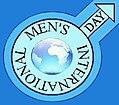 A nemzetközi férfinap logója