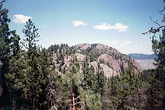 Black Hills - Inyan Kara is a sacred mountain to the Lakota people