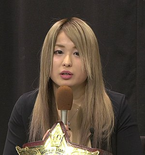 World Wonder Ring Stardom - Io Shirai