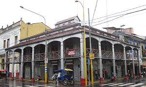 """Casa de Fierro - The """"Casa de Fierro"""" in Iquitos, Peru"""